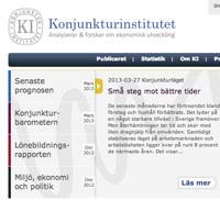 Konjunkturinstitutet, Stig Björne Ekonomi